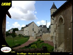 20100715-Ligré_033 (michel.cansse) Tags: france centre mairie richelieu indreetloire paysdeloire glise ligré