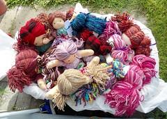 dollies in the bassinette (Sami's Dolls) Tags: elephant turtle stuffedanimals samu handmadetoys waldorfdolls waldorftoys samiramina samisdolls