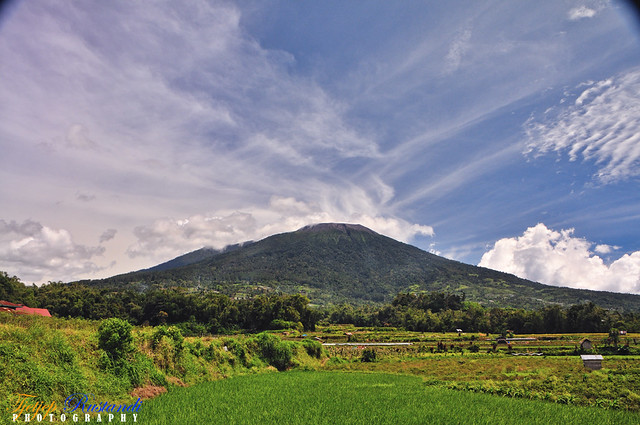 Merapi Mountain, Bukittinggi