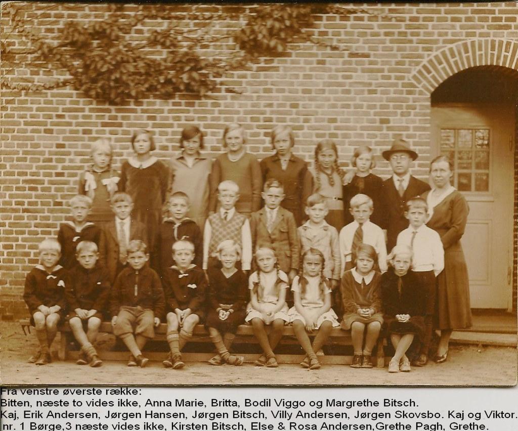 Skolebillede fra Vemmetofte