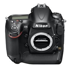 Nikon D4_fronttop