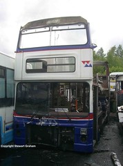 A last look at 3015 (MCW1987) Tags: yards bus mk2 scrap barnsley 3015 mk2a