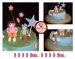 Dora the explorer Cake (Niki SG) Tags: party cakes cookies cupcakes boots explorer dora        sketiglyka