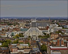 liverpool .... from the anglican cathedral tower (ana_lee_smith) Tags: uk travel pink windows light england detail tower tourism glass architecture liverpool lens photography design neon artist catholic colours view cathedral minolta bell britain gothic photojournalism kitlens 360 arches panoramic foundation stained architect installation gb 1978 1855mm af script ornate sir 2008 completed metropolitan 1904 anglican traceyemin paddyswigwam merseyside revival hopest highaltar 70210mm briefly gilesgilbertscott debatable stjamesgardens stjamescemetery ladychapel age22 photosof liverpoolanglicancathedral upperdukest benedicite stjamesmount beecan analeesmith ifeltyouandiknewyoulovedme sonyslta33 seniorarchitect georgebodley 331ft ultracontemorary