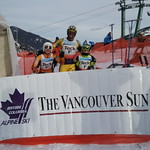 January 2012 Teck Races at Panorama hosted by Red Mountain Racers - Manny Osborne-Paradis (CAST) forerunner! PHOTO CREDIT: Gordon Bagan