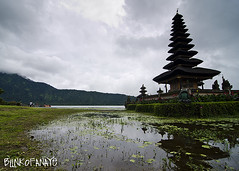 Ulun Danu Temple (Blinkofanaye) Tags: bali mountain lake indonesia temple village hindu beratan bedugul ulundanu candikuning
