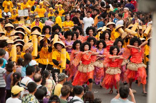 Opening Salvo Street Dance - Dinagyang 2012 - City Proper, Iloilo City - Iloilo, Philippines - (011312-170838)