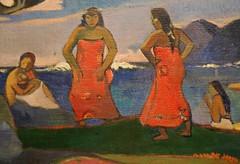 Paul Gauguin (1848-1903) - Day of the Gods (Mahana No Atua) - 1894 (UGArdener) Tags: chicago impressionism artinstituteofchicago gauguin artgalleries paulgauguin frenchimpressionism