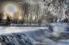 15/01/2012 – 8h53 – Moins 25 °C (guysamsonphoto) Tags: morning winter mist snow river hiver rivière neige hdr brume matin victoriaville victo nikkor1855vr rivièreduquébec nikond7000 rivièrenicolet guysamson blinkagain bestofblinkwinners