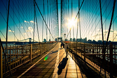 Brooklyn flare (Fabio Sabatini) Tags: nyc bridge newyork brooklyn unitedstates manhattan sigma wideangle flare alessandra 1020mm simmetry f456