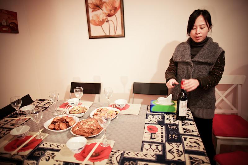Chen Jie home dinner 007