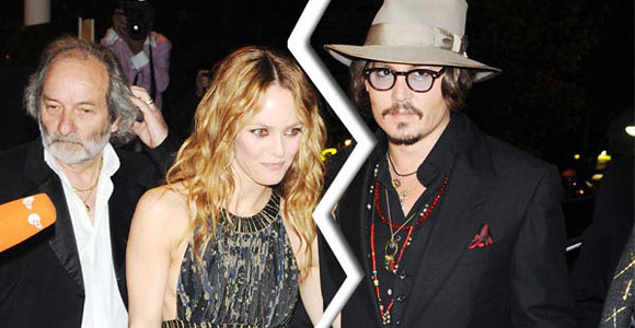 Johnny Depp & VANESSA PARADIS Split!!!
