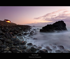 The Last Light (.Brian Kerr Photography.) Tags: lighthouse seascape village portpatrick dumfriesandgalloway