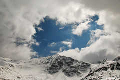 Irechek peak 2852m, Rila mountain , Bulgaria (.:: Maya ::.) Tags: winter sky mountain snow clouds peak bulgaria rila    musala      mayaeye mayakarkalicheva  irechek