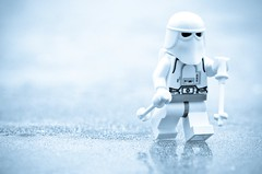 Just a snowtrooper on the ice (Kalexanderson) Tags: life family winter stilllife trooper ice toys photography star is starwars vinter play lego sweden stockholm father son stormtrooper wars emotions soldat hoth ordinary nordicwalking snowtrooper familylife realtions cclones cclone spanga stormtrooperandson