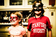 Super heros are in town (S.M.H.M.) Tags: portrait kids couple mask siblings stanford superhero brotherandsister standford botherandsister stephanemonierphotography