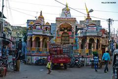 1223 VILLE DE  BUNDI (jean pierre floch) Tags: india temple tajmahal palais pushkar rajasthan forteresse inde mosqué templee