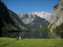 Lake Obersee (ilurch) Tags: alps landscape bavaria berchtesgaden boattour watzmann mountainhiking fischunkelalm lakeobersee