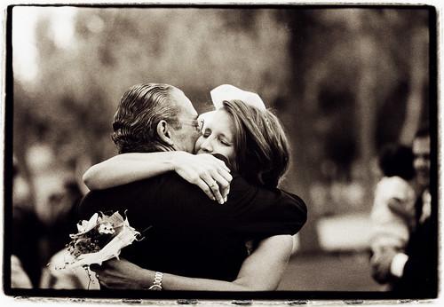 La novia y padre - Fotograf�a de boda - Edward Olive