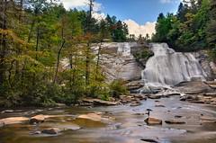 High Falls - Dupont State Forest, N.C. (VonShawn) Tags: longexposure mountains waterfall nikon northcarolina hdr highfalls dupontstateforest ndfilter photomatix nikond90 exposurefusion