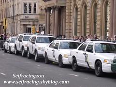 US police cars in Glasgow2011 (seifracing) Tags: world camera uk england usa ford philadelphia brad movie fire scotland volvo war glasgow explorer police crew crown z pitt iveco brigade ecosse 2011 seifracing