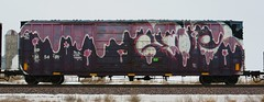Glue (quiet-silence) Tags: railroad art train graffiti glue railcar sp boxcar graff freight goldenwest wholecar fr8 2dx sp245451