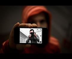 "18/ 50 ""Iphone selfportrait"" (Mirko.Eggert) Tags: 50mm hamburg 50mmproject twittographers nikond7000"