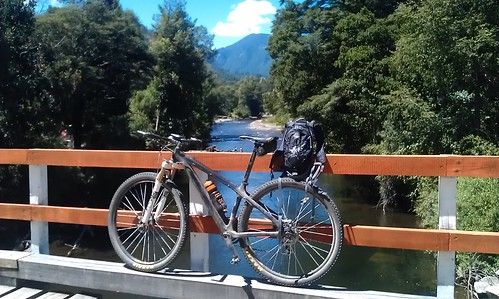 Cycle touring.