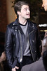 Daniel Radcliffe appears on entertainment news show 'Extra' at The Grove with Mario Lopez Los Angeles, California