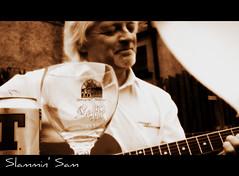 Slammin' Sam (unplugged) (Highland Art 13) Tags: music scotland highlands guitar inverness ironworks jamband invernessshire belladrum beauly slamminsamsammcconnell slamminsamsjamband
