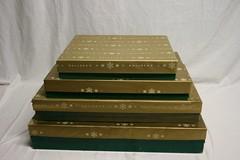 Vintage Bullock's Dept Store Boxes Christmas (sharpspin) Tags: christmas vintage store boxes dept bullocks