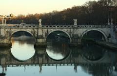 Numero 1, 2 o 3? - Chooce the number (Aesa79) Tags: bridge vatican water ponte vaticano acqua speter spietro canoneos1000d