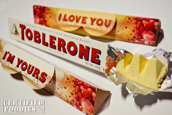 Say it with Toblerone