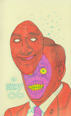 rudy (jeremy pettis) Tags: eye moleskine face true sparkles ball robot sketch drawing teeth jeremy sketchbook rudy suit monday pettis