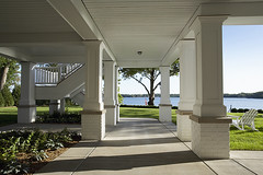 "Exit the lower level to the lake • <a style=""font-size:0.8em;"" href=""http://www.flickr.com/photos/75603962@N08/6853346993/"" target=""_blank"">View on Flickr</a>"