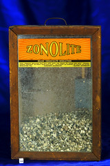 Vintage Zonolite Salesman Display (Asbestorama) Tags: advertising montana display mining mineral libby dust salesman contamination asbestos zonolite vermiculite amphibole