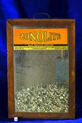 Vintage Zonolite Salesman Display (Asbestorama) Tags: advertising montana display mining mineral libby dust salesman contamination asbestos zonolite vermiculite amphibole