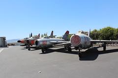 """Mikoyan-Gurevich MiG-15 """"Fagot"""" 079, Mikoyan–Gurevich MiG-17 """"Fresco"""" 1617, North American F-86H """"Sabre"""" 53-1351, North American F-100D """"Super Sabre"""" 56-3141 (2wiice) Tags: north f100 sabre american fresco f86 1617 mig15 f100supersabre northamerican mig17 079 f100d supersabre mikoyangurevich f86h northamericanf100 northamericanf86h mikoyangurevichmig15 northamericansabre mig15fagot northamericanf100supersabre f86hsabre northamericanf86hsabre mig17fresco northamericansupersabre 563141 531351 mikoyan–gurevich mikoyan–gurevichmig17 mikoyan–gurevichmig17fresco mikoyan–gurevichfresco"""
