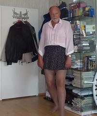 transvestit crossdresser dwt transe damenwschetrger (berndcross) Tags: rock sissy dessous bluse fetisch strapse crossdrersser