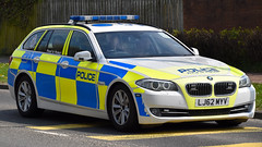 LJ62MYV (Cobalt271) Tags: proud training police northumbria bmw vehicle to motor f11 touring protect livery tpac patrols 530d lj62myv