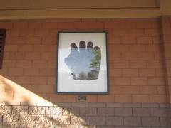 Ty Cobb Glove Art at Scottsdale Stadium -- Scottsdale, AZ, March 08, 2016 (baseballoogie) Tags: arizona baseball stadium az giants scottsdale ballpark springtraining sanfranciscogiants cactusleague baseballpark scottsdalestadium 030816 canonpowershotsx30is baseball16