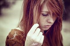 Juliane (ikopix) Tags: red girl beautiful beauty nice nikon natural sweet young redhead freckles redhair sommersprossen nikkor50mm18 d7100 ikopix