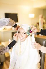 Bride getting ready (RizARu | Photography) Tags: wedding bride weddingphotography solemnization