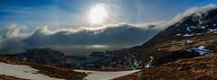 sun and fog (kjellbendik) Tags: blue sea sky fog canon eos norge flickr year may himmel mai nordnorge hav finnmark tke honningsvg mnd bl 2016 northnorway tka magerya 70d naturoglandskap barentsregionen kjellbendikgmailcom hvg