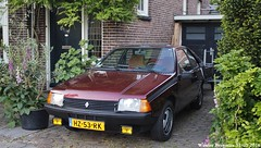 Renault Fuego GTX 1982 (XBXG) Tags: auto old red france holland classic haarlem netherlands car vintage french rouge 1982 automobile nederland voiture renault frankrijk fuego rood paysbas coupe coup ancienne gtx franaise renaultfuego hz53rk
