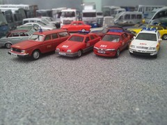 Command cars (quicksilver coaches) Tags: ford volvo model sierra fireengine oo hornby 172 vauxhall skoda octavia diecast 176 vectra 245 fireappliance code3 cararama hongwell abrex oxforddiecast