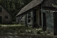 abandoned Farmhouse Veluwe. (dannygeveling1) Tags: abandoned scary farm sinister hdr veluwe