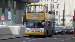 Maghull Coaches LJ03 MJX (North West Transport Photos) Tags: bus liverpool alexander alx albertdock daf arriva opentopbus dla alx400 maghullcoaches arrivalondon db250 arrivalondonnorth dafdb250 cityexplorer dla355 lj03mjx