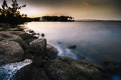 Go Outside (Stephen Oliveira) Tags: longexposure sunset sea water rock florida outdoor sigma melbourne serene 1020 haida ndfilter sigma1020 brevardcounty spacecoast 10stop 10stopnd a6000 stephenoliveira haida10stop sonya6000