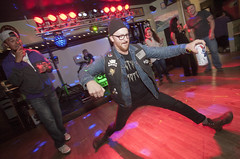 DancePartyHotDog (B Shree B) Tags: canada motion ferry port washington dance vespa angeles columbia victoria lambretta destiny soldiers scooters british scooterrally backflip